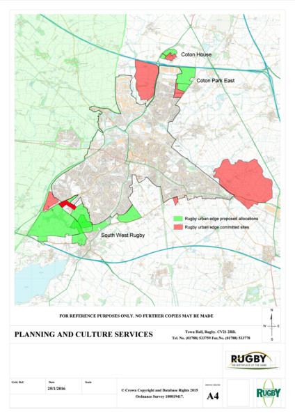 12 400 New Homes Planned In Rugby Red Brick